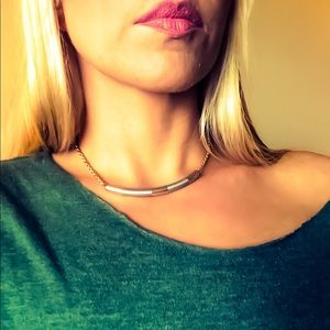 Vintage Gold and Silver Toned Necklace